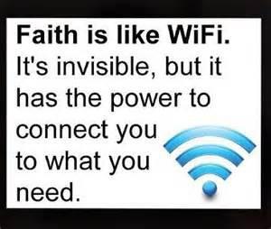 Faith v WiFi